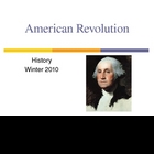 American Revolution Part One - Leading up to war