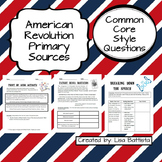 American Revolution Primary Sources Common Core