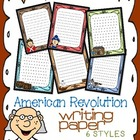 American Revolution Themed Writing Paper