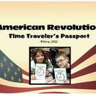 American Revolution Time Traveler&#039;s Passport