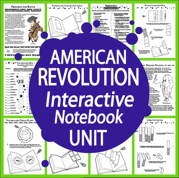 American Revolution Unit-Common Core