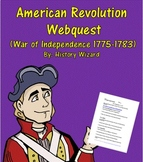 American Revolution Webquest (War of Independence 1775-1783)