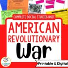 American Revolutionary War Complete Unit