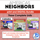 America's Neighbors: Canada, Mexico, and Caribbean complete units