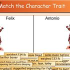 &quot;Amigo Brothers&quot; Character Trait Match
