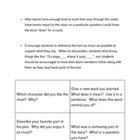 &quot;Amigo Brothers&quot; Discussion Cards, Comprehension Questions