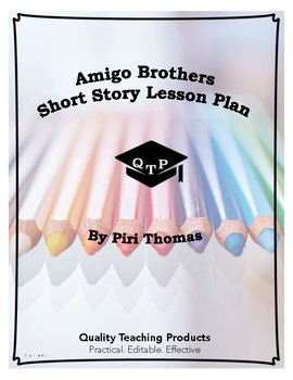 Amigo Brothers Piri Thomas Plot Diagram Worksheets and Answers