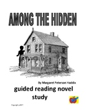 Among the Hidden guided reading plan