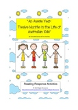 "Australia: ""An Aussie Year"" Reading Response Activities"