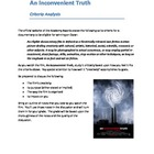 An Inconvenient Truth analysis prompt