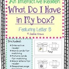 Flash freebie: An Interactive Reader: What Do I Have in My box?