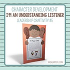 An Understanding Listener {7 Habits Craftivity #5}
