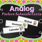 Analog Picture Schedule Cards