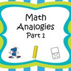 Analogies Part 1 CCSS