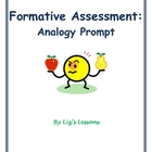 Analogy Prompt Formative Assessment Template