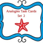Analogy Task Cards Set 2
