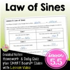 Analytic Trigonometry Lesson 5: The Law of Sines