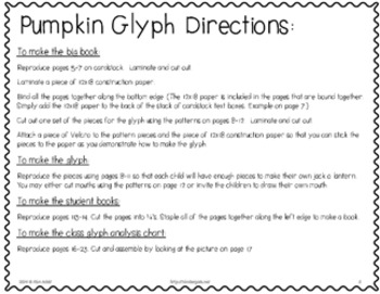 Analyze This - Pumpkin Glyph