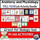 Anatomy & Physiology Lab Activity Bundled Package