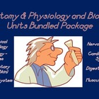Anatomy & Physiology and Biology Units Bundled Package