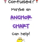 Anchor Chart Binder Cover Page