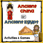 Ancient China or Ancient Egypt