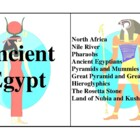 Ancient Egypt, Activities and Worksheets