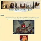 Ancient Egypt Adventure Quest Using Common Core Stardands