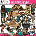 Ancient Egypt Civilization Clipart - Art History King Tut,