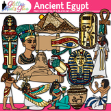 Ancient Egypt Civilization Clip Art - Art History King Tut