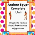 Ancient Egypt Complete Social Studies Unit