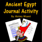 Ancient Egypt Journal Activity