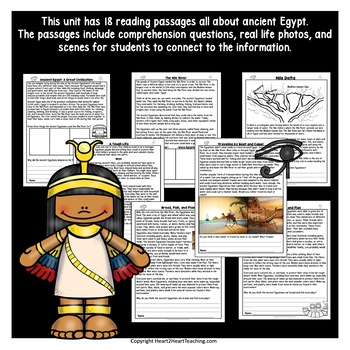 Ancient Egypt Unit on the Smartboard
