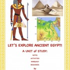 Ancient Egypt: Unit with notes, activites and lots of Resources