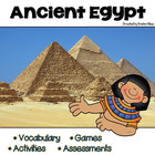Ancient Egypt: Vocabulary Cards, Assessments & Activities