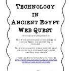 Ancient Egypt Web Quest