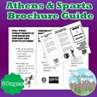 Athens and Sparta Brochure Guide Writing Assignment (Ancie