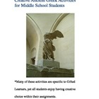 Ancient Greek Activities for Upper Elementary or Middle Sc