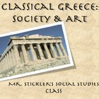 &quot;Ancient Greek Life and Art: Statues and Society&quot; PowerPoint