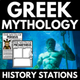 Ancient Greek Mythology: Activities, Handouts, Projects