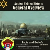 Ancient Hebrew Civilization: General Overview powerPoint P