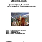Ancient Israel Social Studies Lessons & Quizzes!
