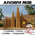 Ancient Mali: Vocabulary Cards, Minibook & Activities