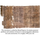 Ancient Mathematical Documents Posters