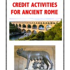 Ancient Rome: Independent Extra-Credit Activities