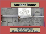 Ancient Rome Interactive Notebook & More (5th - 8th Grades)