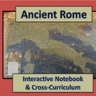 Ancient Rome: Interactive Notebook, Test & Lesson Plans