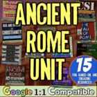 Ancient Rome Unit: 10 fun, student-centered activities to