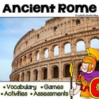 Ancient Rome: Vocabulary Cards, Assessment &amp; Activities