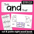 """And"" Interactive Sight Word Reader"